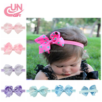 The New Style Newborn Baby Girl Headband Infant Toddler Bow Hair Band Girls Accessories