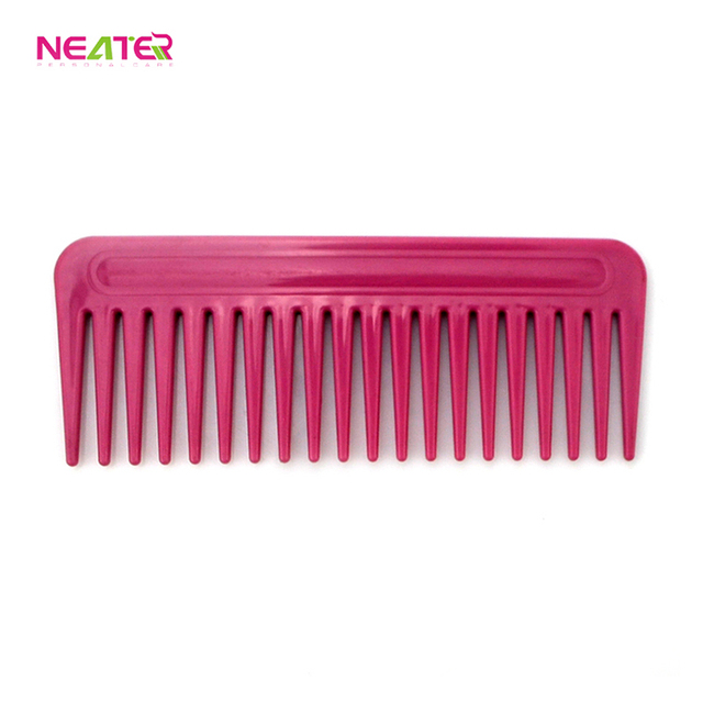 Hot Sale Guaranteed Quality Personalized Easy Clean Hair Plastic Hair Comb