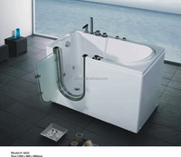 midocean style walk in disabled old people use massage bathtub H5622