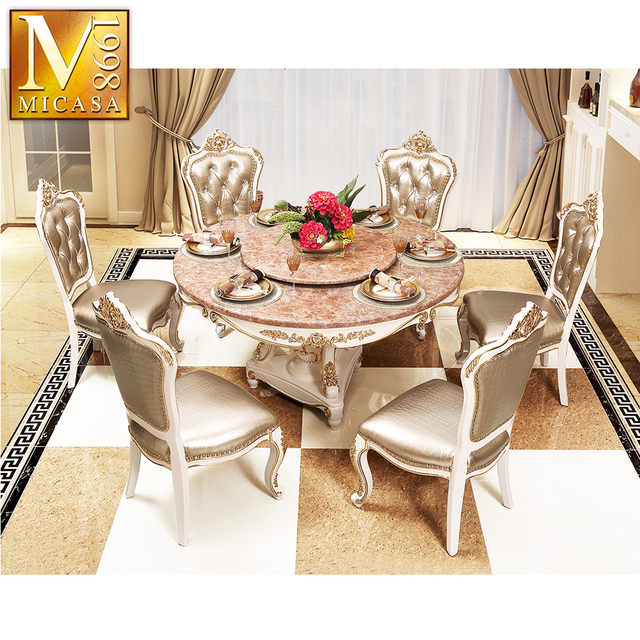 European Luxury Furniture Dinning Room Table Chair Set Dining Room Table And Chairs