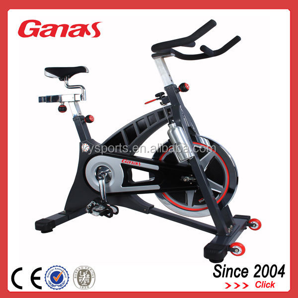 Top grade professional body building equipment gym belt transtion spinning bike