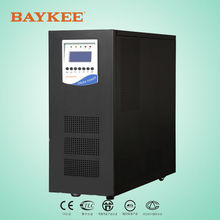 Baykee 6KVA 4.8KW 3 phase in single phase out low frequency online UPS champion UPS
