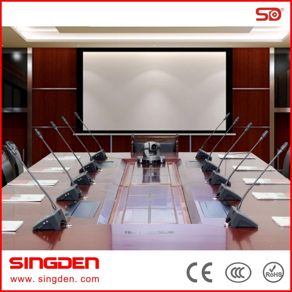 SINGDEN high quality conference system bosch audio conference system SM212