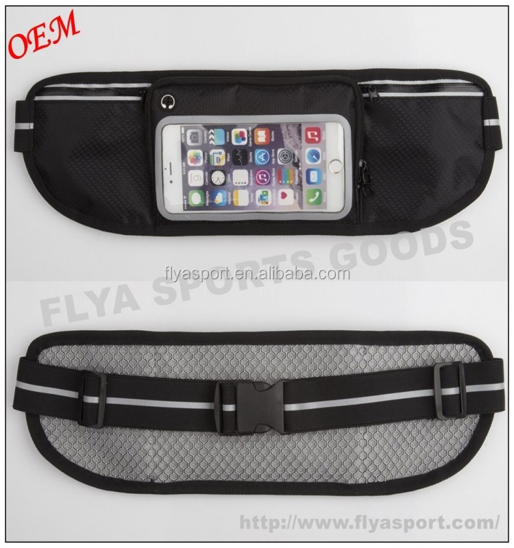 Running Fitness Waist Sports Belt Exercise Training Cell Phone Pouch
