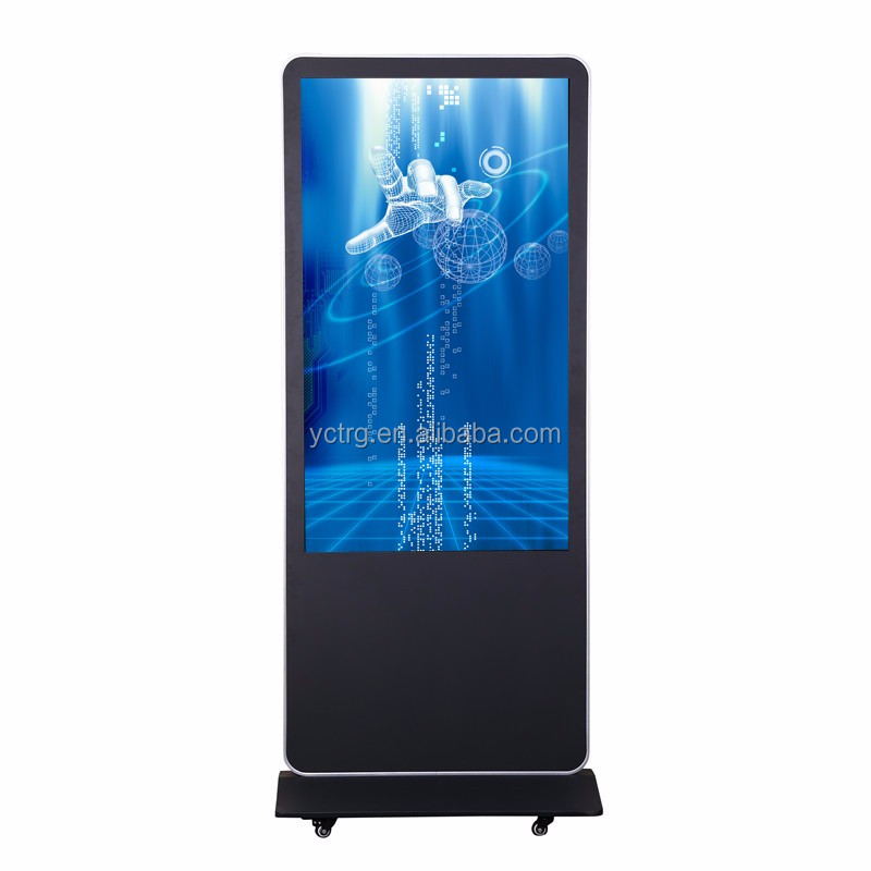 "55"" LED/LCD Indoor & Outdoor touch screen Advertising Display Floor Standing machine"