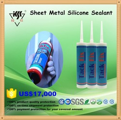 General purpose fast curing metal Machinery Silicone Sealant
