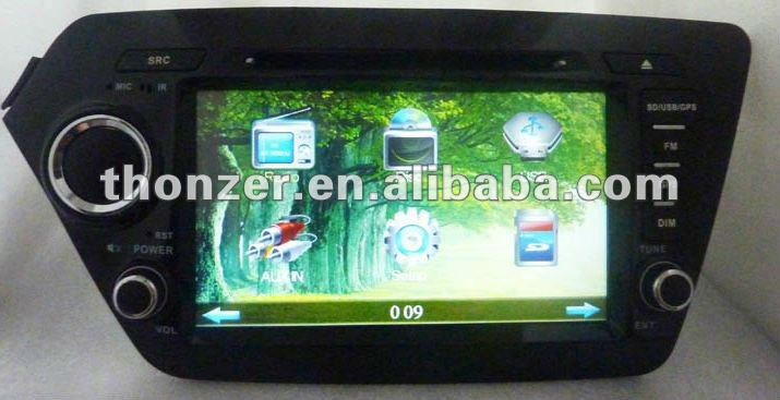 Special GPS DVD For KIA K2 (TZ-KA805)