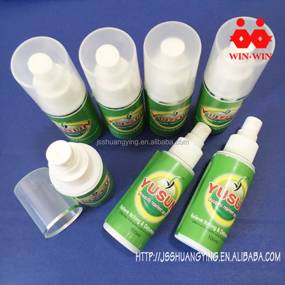 Fresh scent mosquito spray insecticide