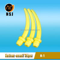 Disposable Yellow Epoxy Resin Dental Mixing Tip
