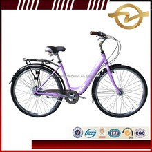 European market 28/26 inch Aluminum Alloy Frame Dutch Classic City Bicycle/Lady Adult Bike women bicycle in China factory