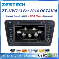 ZESTECH 2014 special 7 inch autoradio cd player touch screen car dvd player for skoda octavia a7