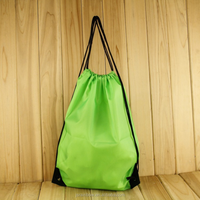 Customize Promotional Terylene Drawstring bags Backpack