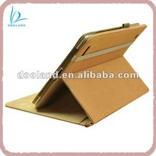 For genuine leather ipad 3 smart cover and case