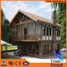 Low Cost Eco Prefabricated True Core Steel 3D Bunglow House Plans