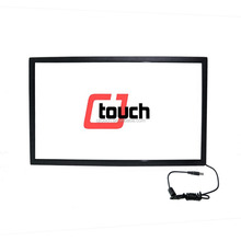 "10.4"" - 96"" infrared multi touch screen panel,plug and play ir touch screen frame 2/4/6/10 points touch,"