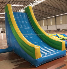2016 Funny inflatable water park tubes slides prices for sale, used swimming pool slide