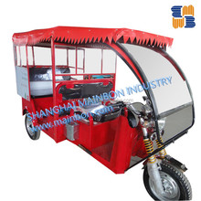 Newest Electric Rickshaw with exchange three wheel tricycle brushless motor, operate battery