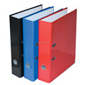 Brightly Color Paper Lever Arch File