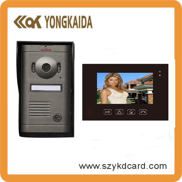 Photo shooting wireless video door phone
