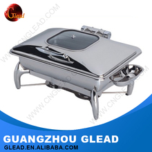 Guangzhou Wholesale Stainless steel roll top chafing dish for sale