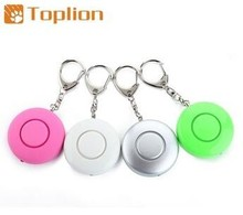 120db SOS personal attack alarm with LED light