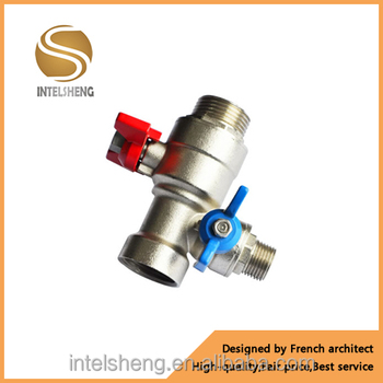 Factory Direct Aluminum Butterfly Handle Brass Ball Valve