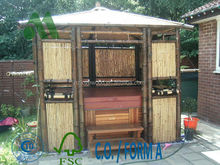 bamboo gazebo for hot tub/hot tub gazebo/hot tub house