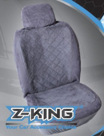 velour design car seat cover