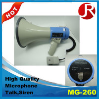 MG-260 rechargeable megaphone with music