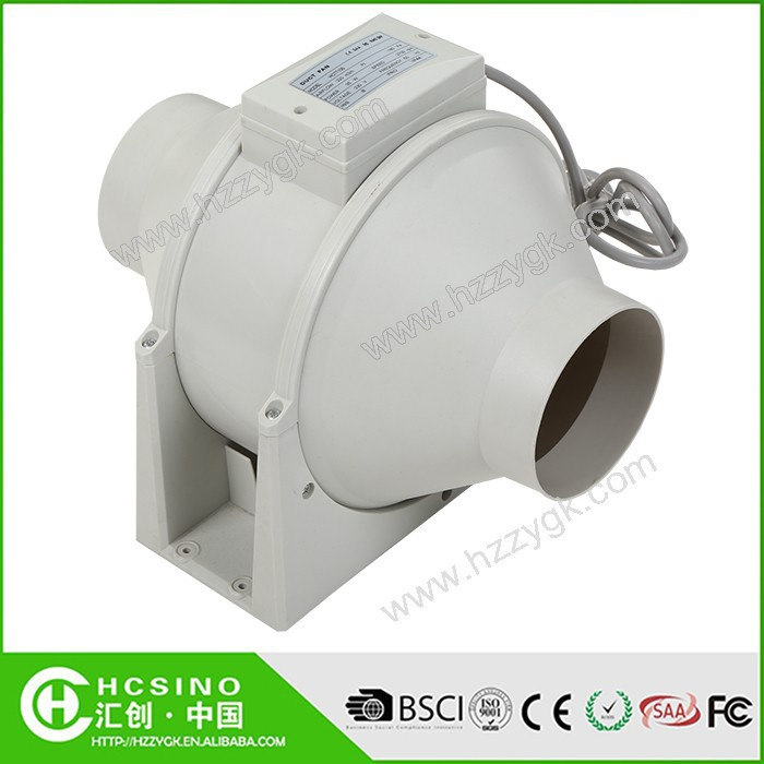 Small Inline Centrifugal Fan : Ce rohs industrial vortex low noise ventilation mini