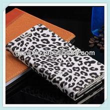 OEM hot selling leopard leather phone case for samsung galaxy note3 n9000