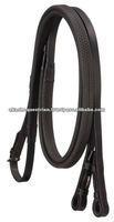Leather Reins with Rubber grip