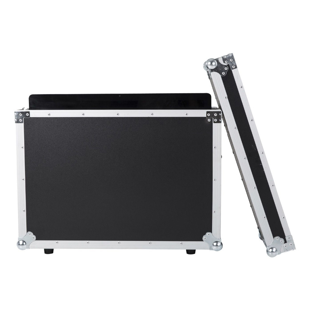 aluminum transport road abs flight case imac 21.5 inch flight case 19 inch mixer flight case