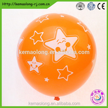 metallic color rubber balloon for Merry Christmas party balloon decoration