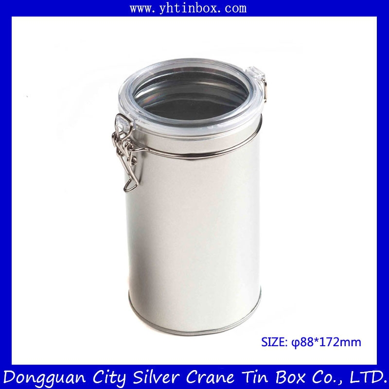 Airtight tea tin container