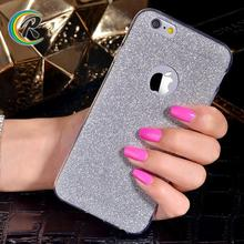 Paypal accept for iphone 6 red back cover housing for apple iPhone 7 soft cover case bling