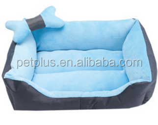 Lovely detachable Latest Double Bed Designs Dog Bed with Bowtie for Bed Room