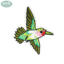 Custom Bird Patches Iron On Embroidered Patches Clothing Sewing Applique Accessories