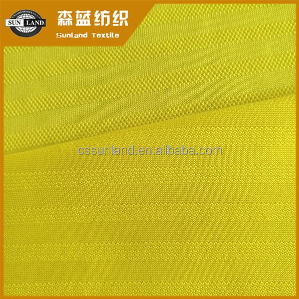 china factory 100 polyester weft knitted breathable jacquard polyester fabric