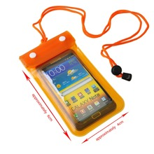Hot Sale Best Selling Customized PVC Waterproof Mobile Cell Phone Bag for Swimming