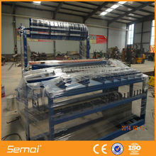 Automatic 2.4 Meter Height Fixed Knot Field Fence Machine Production Line