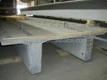 Italy Designed Precast Concrete Hollow Core Slab Machine