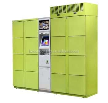 Intelligent delivery refrigerator locker