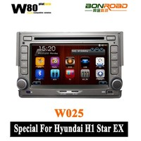 Accessories for hyundai h1 with GPS Ipod DVR digital TV box BT Radio 3G/Wifi(TID-I233) Min. Order: 1 Piece