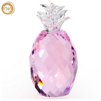 Designer Best-Selling pineapple crystal decoration