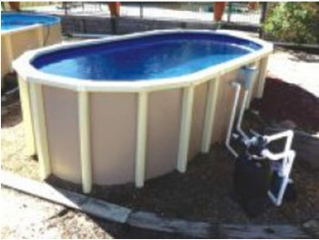 Factory Price Above Ground Steel Swimming Pool