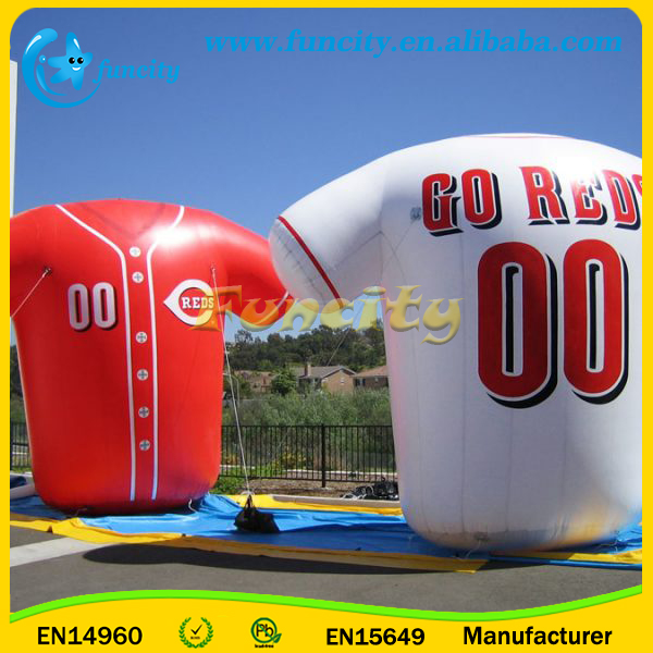 Advertising Inflatable Football Player Cloth, Custom Inflatable Model