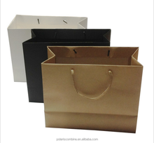 Fancy kraft Paper gift bag shopping bag cloth clothing packaging