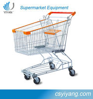 Asia Style used Supermaket Shopping trolley