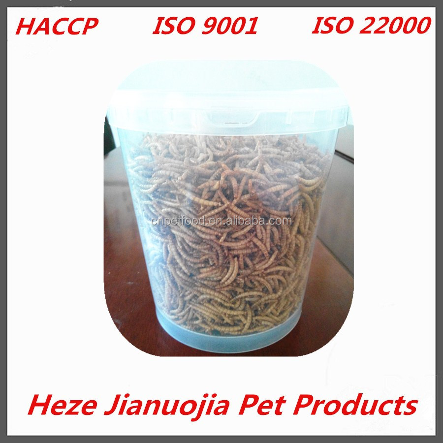 200 grams 400 grams yellow mealworms cheap dried mealworm tubs